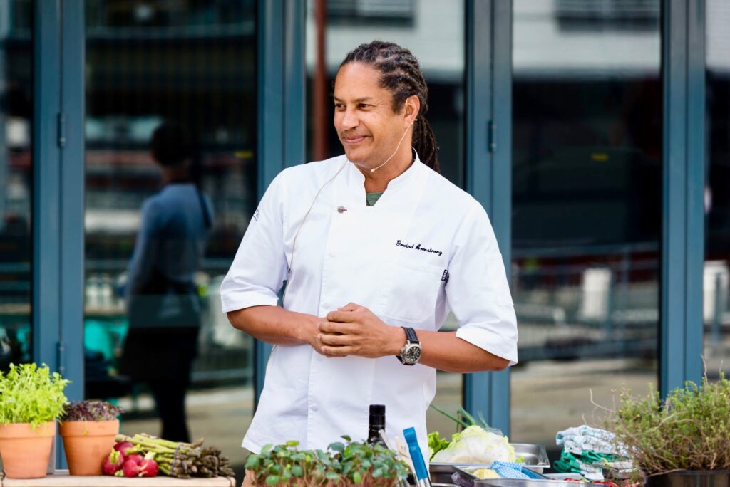 Chef Armstrong at Santa Monica at Pier One Sydney