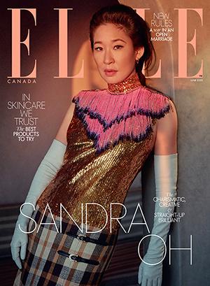 ELLE Canada June 2020: Actress Sandra Oh at Santa Monica Proper Hotel
