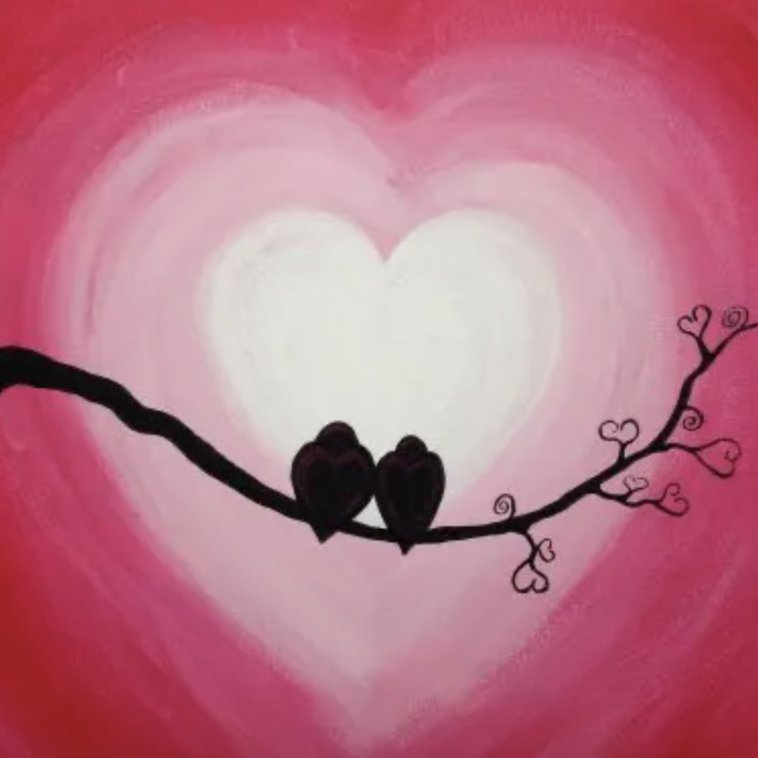 Valentine's Day Paint With Me Special