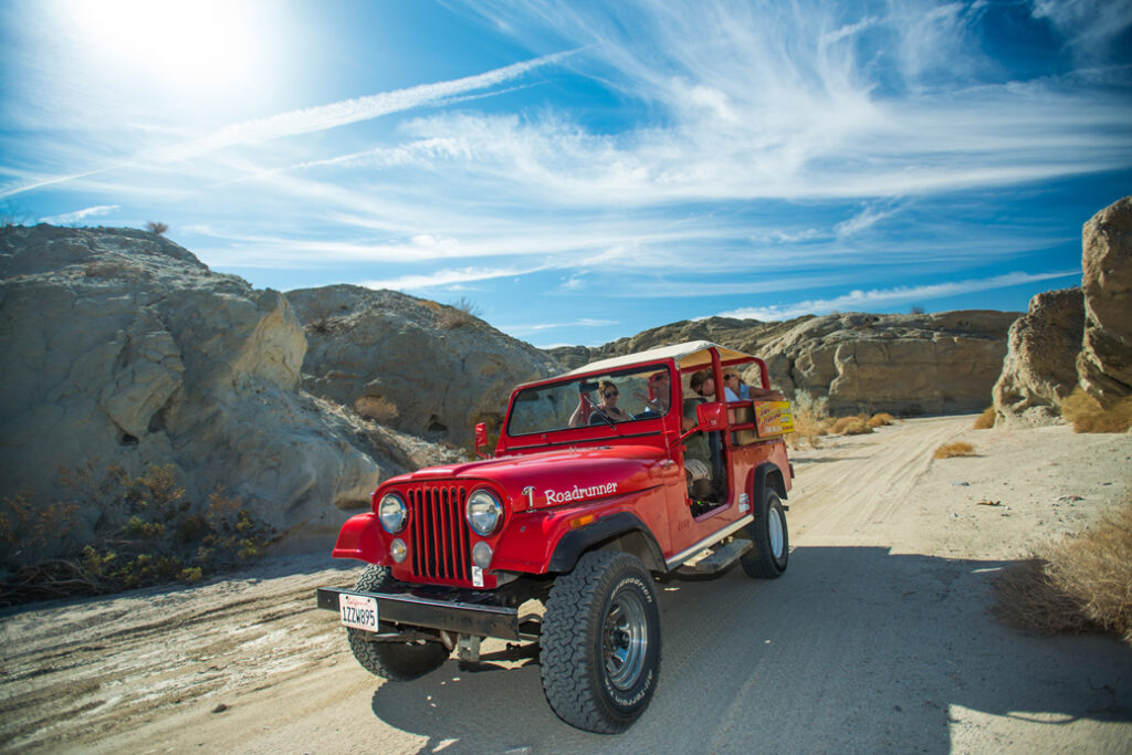 Desert Adventures Red Jeep Tours in Greater Palm Springs