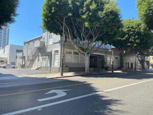 Exterior of the Santa Monica Bay Woman's Club building.